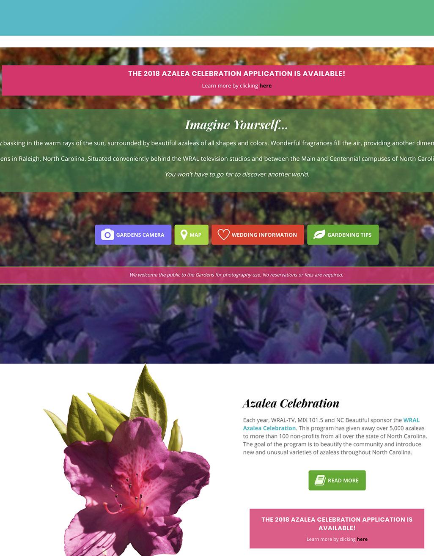 Gardens website