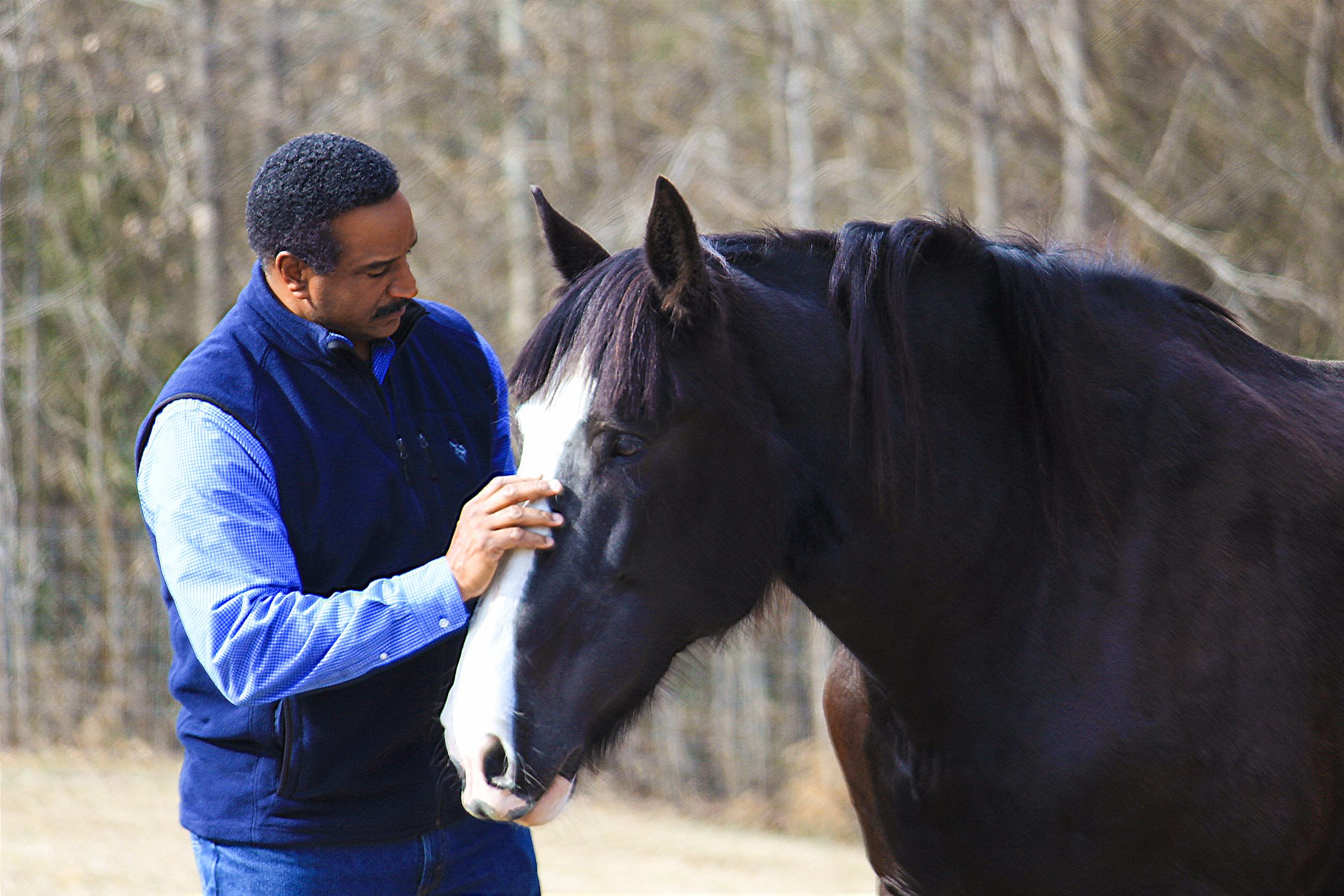 Gerald with horse1