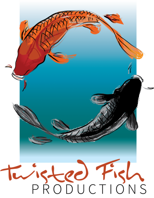 Twisted fish logo for site