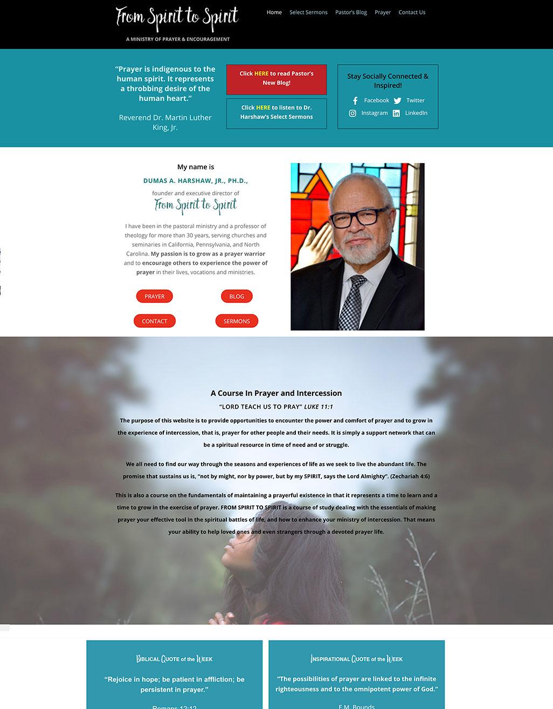 Spirit-website